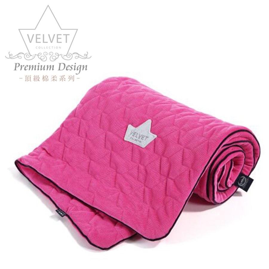 La Millou Velvet頂級棉柔系列-標準款柔柔毯80x100cm(舒柔粉綠)