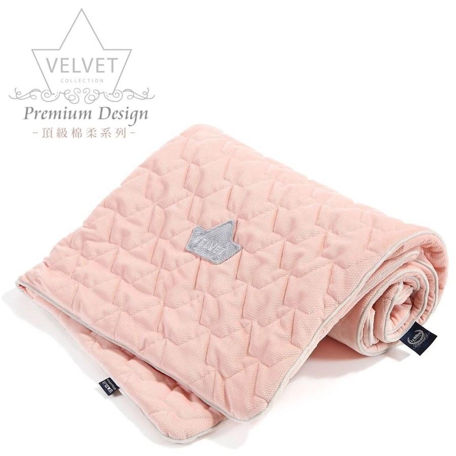 La Millou Velvet頂級棉柔系列-標準款柔柔毯80x100cm(舒柔嫩粉)