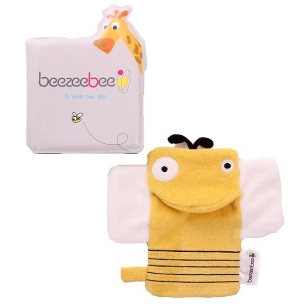 beezeebee洗澡創意玩具-小蜜蜂洗澡書(小蜜蜂)