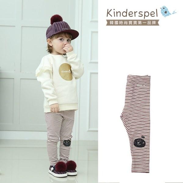 Kinderspel 內搭褲(條紋紅)