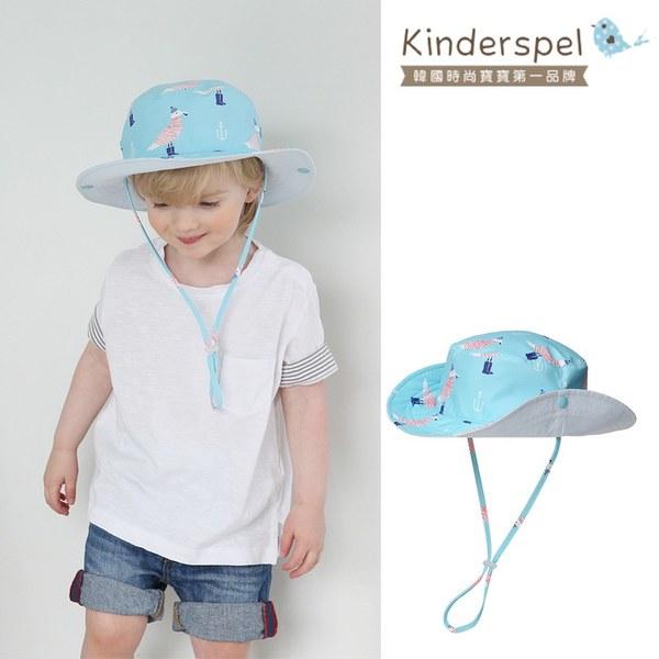 Kinderspel 抗UV‧防曬遮陽漁夫童帽(大腳ㄚ船長)