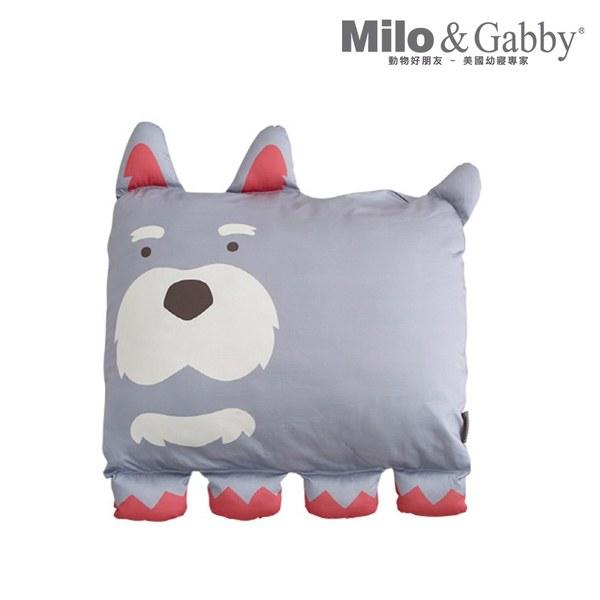 Milo & Gabby 動物好朋友-大枕頭套(PAUL狗狗)