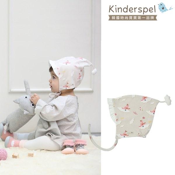 Kinderspel 雙面穿戴 · 正韓造型嬰兒棉帽(搖滾小紅雀)
