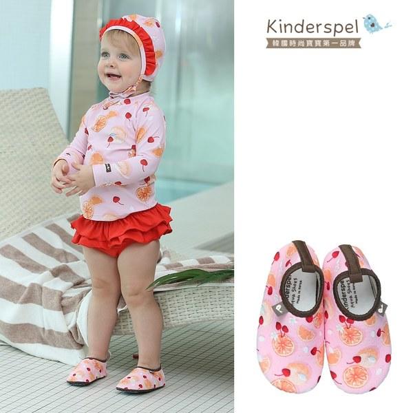Kinderspel 玩水趣寶寶泳鞋-橘子汽水