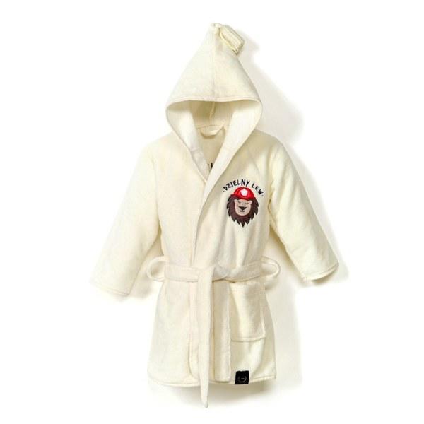 La Millou Jersey時尚篷篷睡袍浴袍_加大2.5-5Y- 打火小英雄(雲朵白)