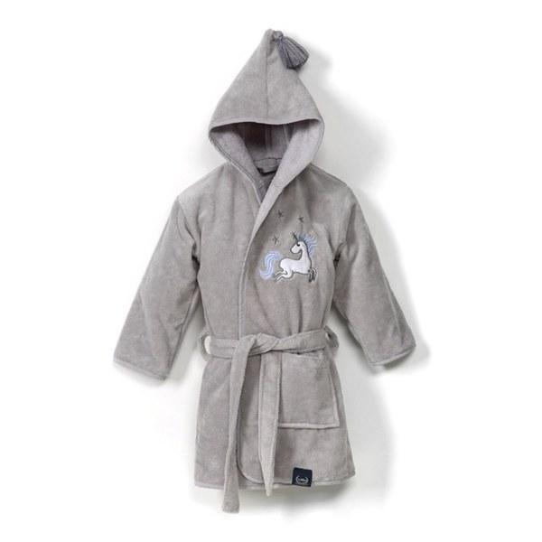 La Millou Jersey時尚篷篷睡袍浴袍_加大2.5-5Y- 騎士獨角獸(銀河星空灰)