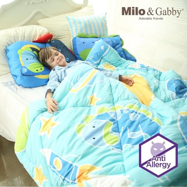 Milo & Gabby 兒童大人款輕柔舒適FresiL棉被(Dylan航太家)-150x200cm