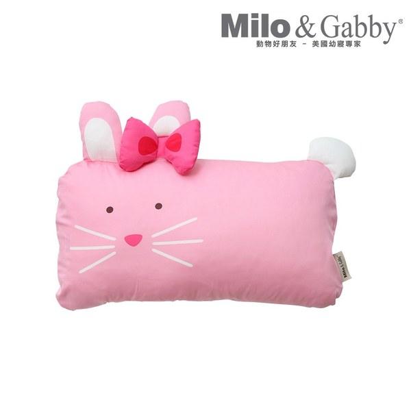 【此商品為預購品,於4/10起出貨】Milo & Gabby 動物好朋友-mini枕頭套(LOLA芭蕾舞兔兔)