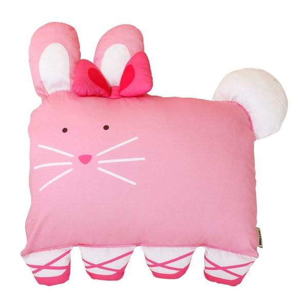 【此商品為預購品,於4/10起出貨】Milo & Gabby 動物好朋友-大枕頭套(芭蕾舞兔兔)