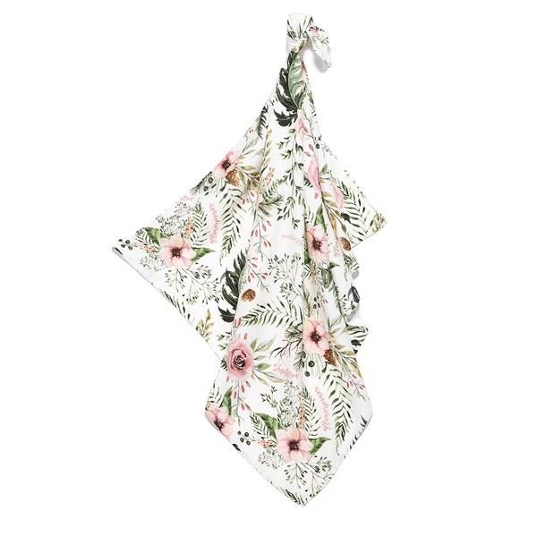La Millou 包巾-竹纖涼感巾(伯爵粉茶花)
