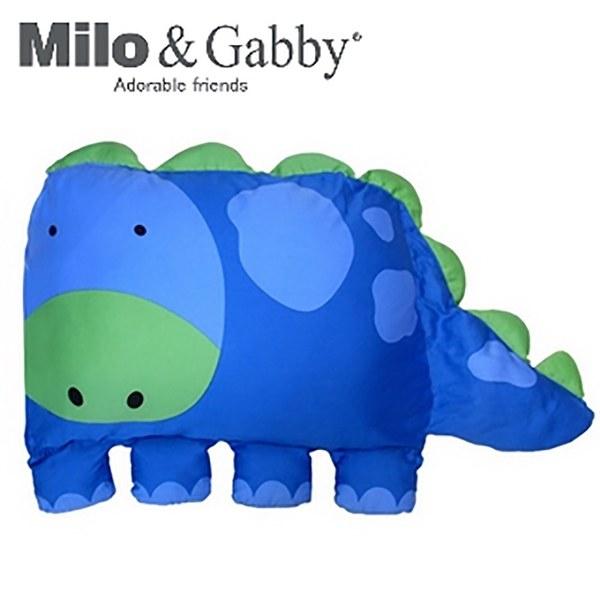 【此商品為預購品,於4/10起出貨】Milo & Gabby 動物好朋友-大枕頭套(DYLAN恐龍)