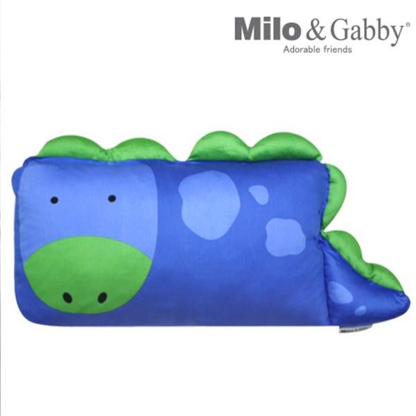 【此商品為預購品,於4/10起出貨】Milo & Gabby 動物好朋友-mini枕頭套(DYLAN恐龍)