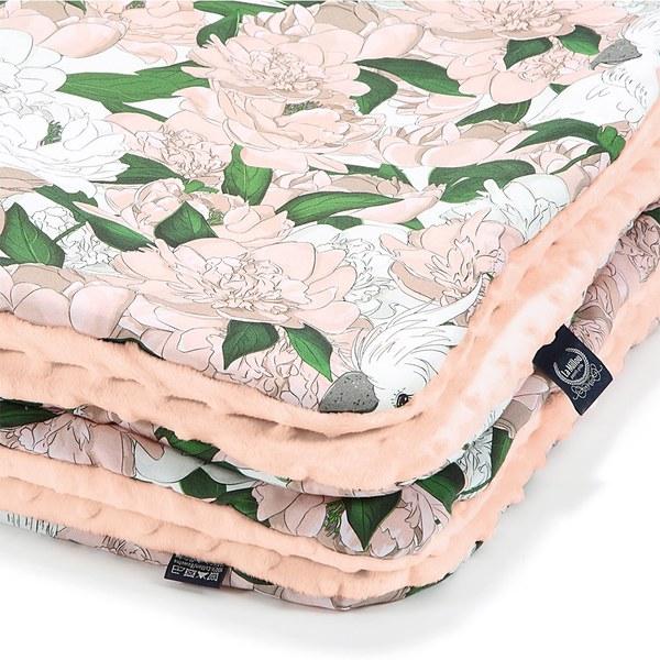 La Millou 暖膚豆豆毯-格格牡丹花(粉嫩氣質膚)