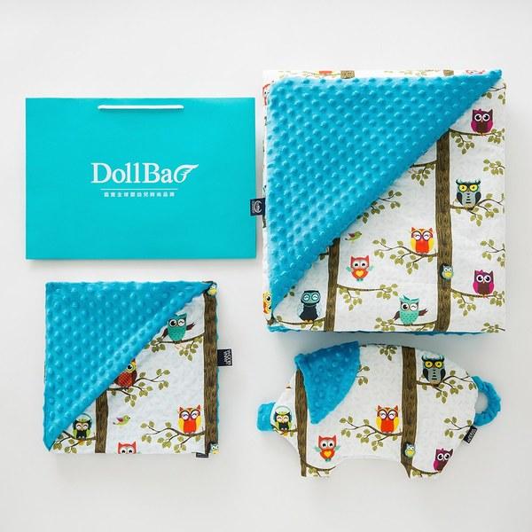 La Millou  送禮套組(小豬枕+暖膚豆豆毯-加大款+巧柔豆豆毯-標準款)-贈送禮提袋