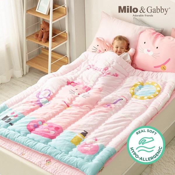 Milo & Gabby 小童加大款輕柔舒適‧莫代爾Modal蓋被_110x140cm(美妝教主Nancy)