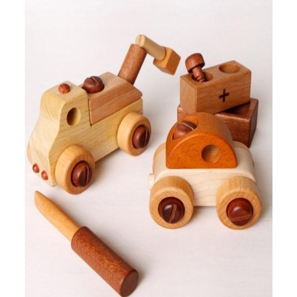 Soopsori全腦開發‧原粹木積木(拖車工程組)