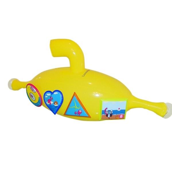 beezeebee洗澡海灘玩具(黃色大潛艇)