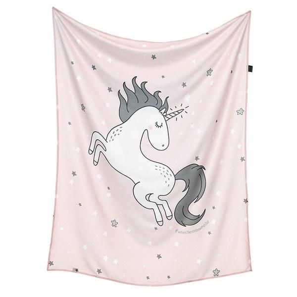 La Millou 包巾-竹纖涼感巾(公主獨角獸)