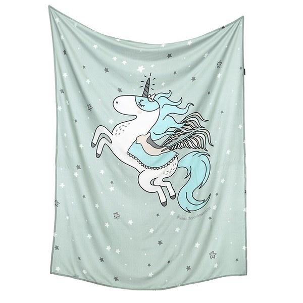 La Millou 包巾-竹纖涼感巾(騎士獨角獸)