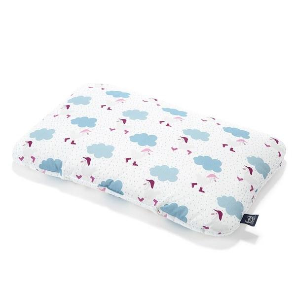 La Millou 竹纖涼感小童枕加大-30 cm x 50 cm (雨點達達鴨)