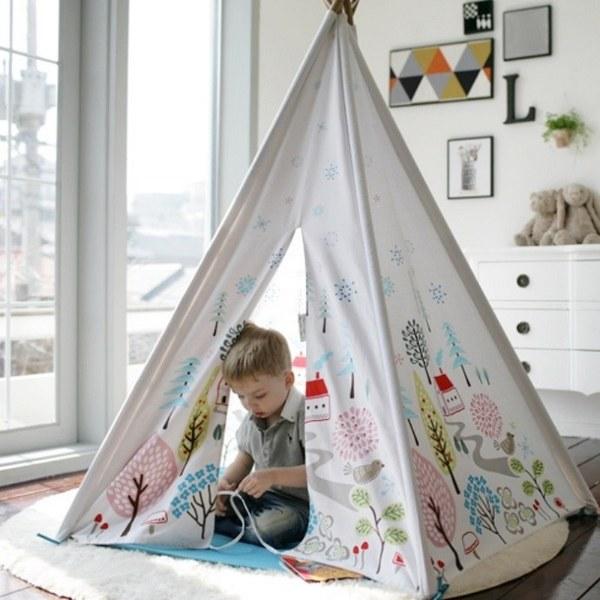 Cuna Tent x Sagepole成長美學小木屋 (挪威森林小鎮)