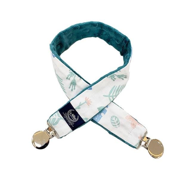 La Millou 豆豆多功能防掉夾(50cm)-瑜珈珈樹懶(藍綠愛琴海)