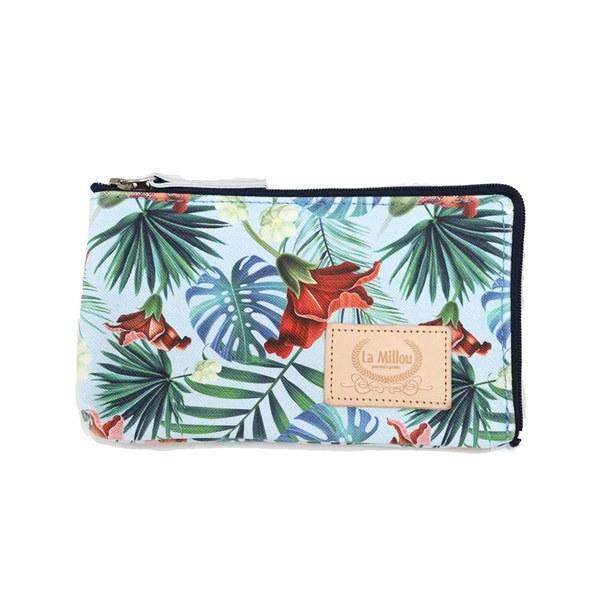 La Millou  FEERIA妃芮亞多功能時尚mini手拿包(11*18cm)-熱帶島嶼