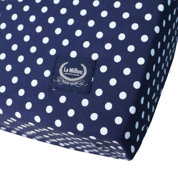 La Millou 拉米洛北歐風_嬰兒床單-法鬥噗噗車(70cmx140cm)