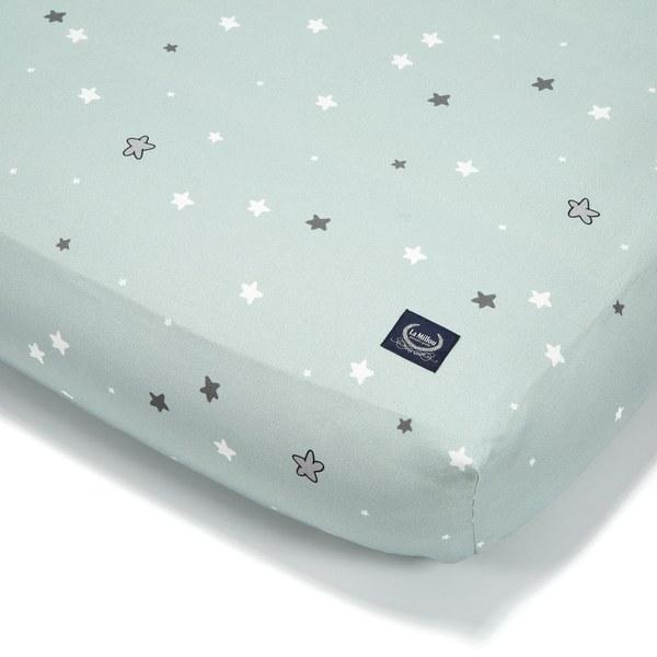 La Millou 拉米洛北歐風_嬰兒床單-童話獨角獸(70cmx140cm)