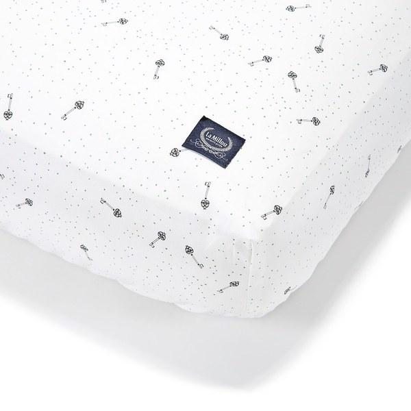 La Millou 拉米洛北歐風_嬰兒床單-柴可夫天鵝(70cmx140cm)