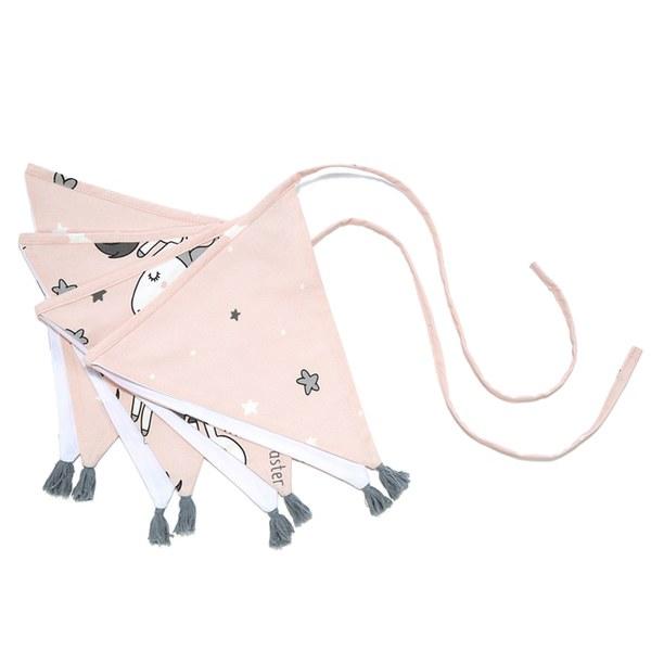 La Millou 拉米洛北歐風_三角流蘇旗幟-童話獨角獸
