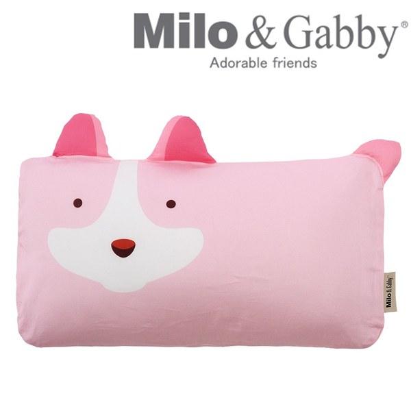 Milo & Gabby 動物好朋友-mini枕頭套(JOY狗狗)