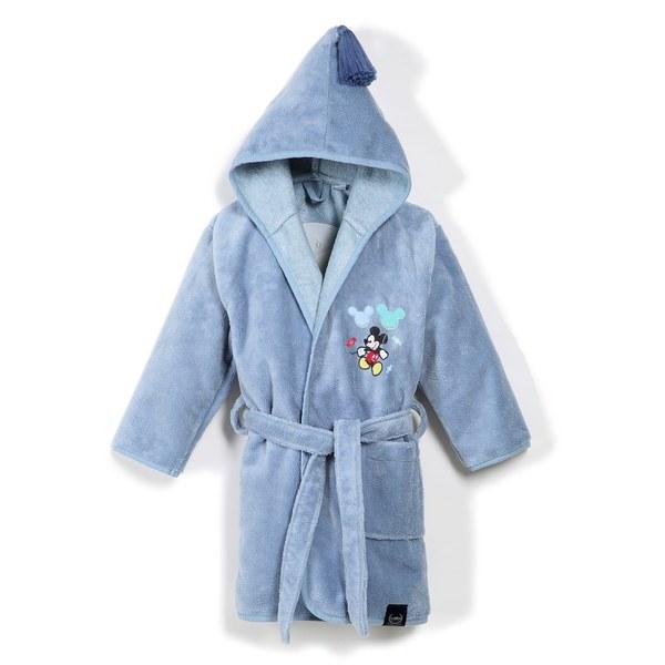 La Millou Jersey時尚篷篷睡袍浴袍_加大2.5-5Y- 氣球嘉年華(蒙地卡羅藍)