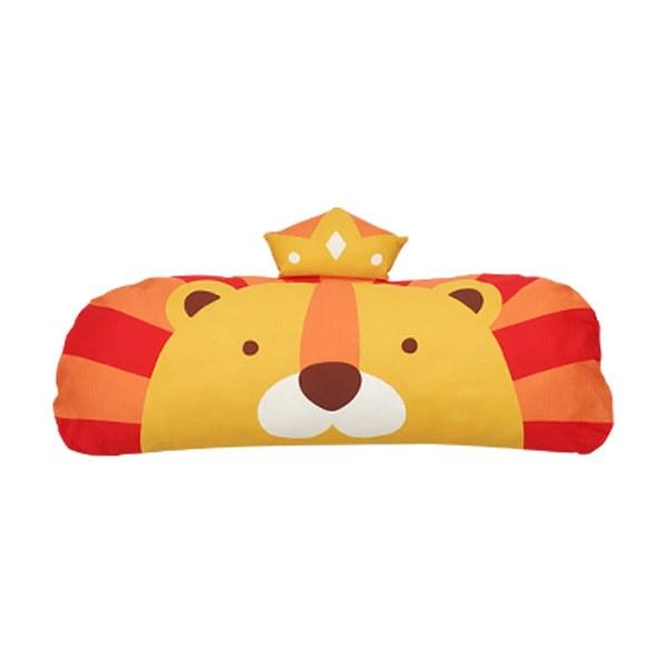 Milo & Gabby 動物好朋友-長條抱枕心枕套組( Lonnie小獅王)