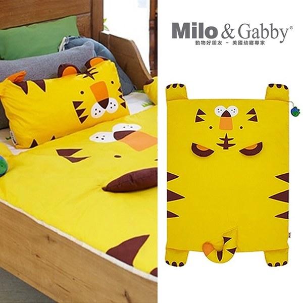 Milo & Gabby 動物好朋友-立體造型暖暖蓋被 (TOM小虎)