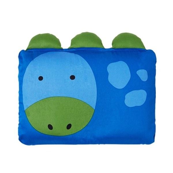 Milo & Gabby 動物好朋友-嬰兒枕頭套(DYLAN恐龍)