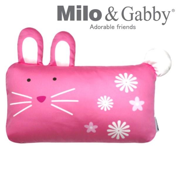 【此商品為預購品,於4/10起出貨】Milo & Gabby 動物好朋友-mini枕頭套(LOLA兔兔)