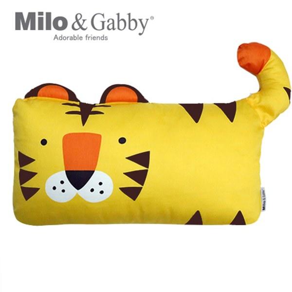 【此商品為預購品,於4/10起出貨】Milo & Gabby 動物好朋友-mini枕頭套(TOM小虎)