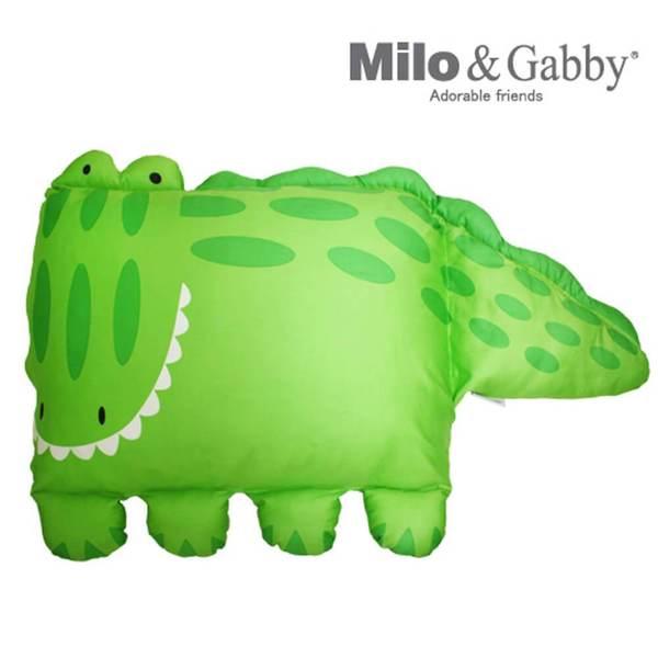 Milo & Gabby 動物好朋友-大枕頭套(ALBERT鱷魚)