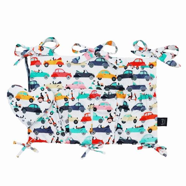 La Millou 拉米洛北歐風_嬰兒床頭掛包掛袋-法鬥噗噗車