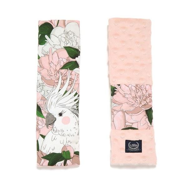 La Millou 安全帶保護套-格格牡丹花(粉嫩氣質膚)