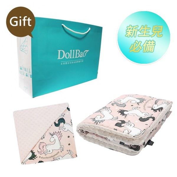 La Millou 送禮套組(單面巧柔豆豆毯-標準款+暖膚豆豆毯-標準款)-贈送禮提袋