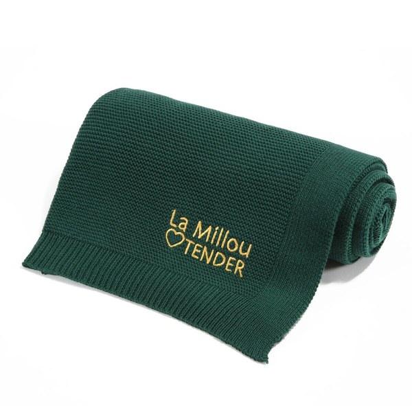 La Millou Tender針織毯-茉莉綠