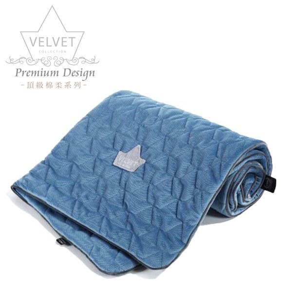 La Millou Velvet頂級棉柔系列-標準款柔柔毯80x100cm(舒柔丹寧)