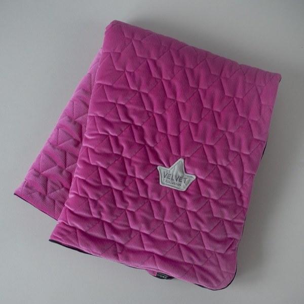 La Millou Velvet頂級棉柔系列-標準款暖膚毯80x100cm(舒柔桃)