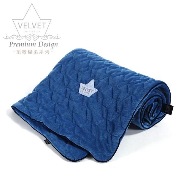 La Millou Velvet頂級棉柔系列-標準款柔柔毯80x100cm(舒柔靛)