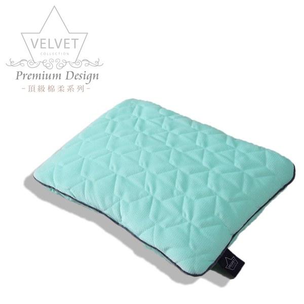 La Millou Velvet頂級棉柔系列-小童方枕30x40cm(舒柔綠)