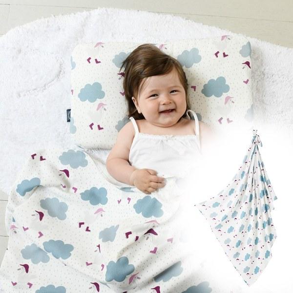 La Millou 包巾-竹纖涼感巾(雨點達達鴨)