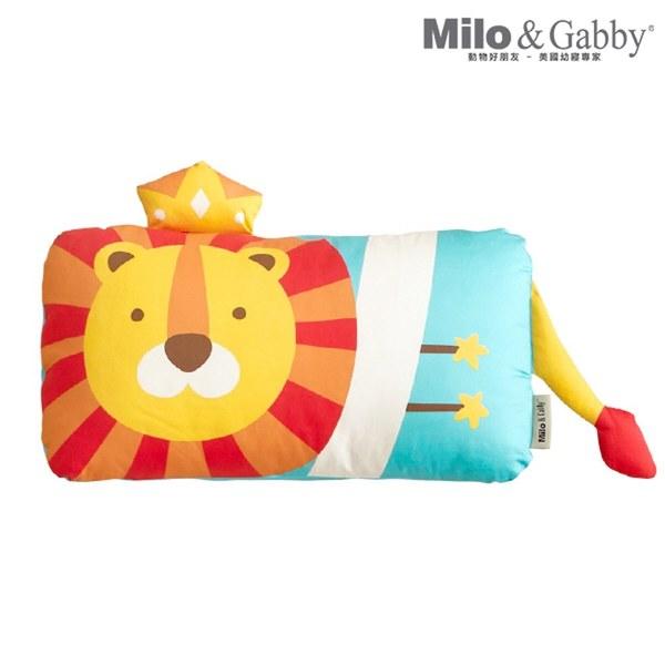 【此商品為預購品,於4/10起出貨】Milo & Gabby 動物好朋友-mini枕頭套(LONNIE小獅王)