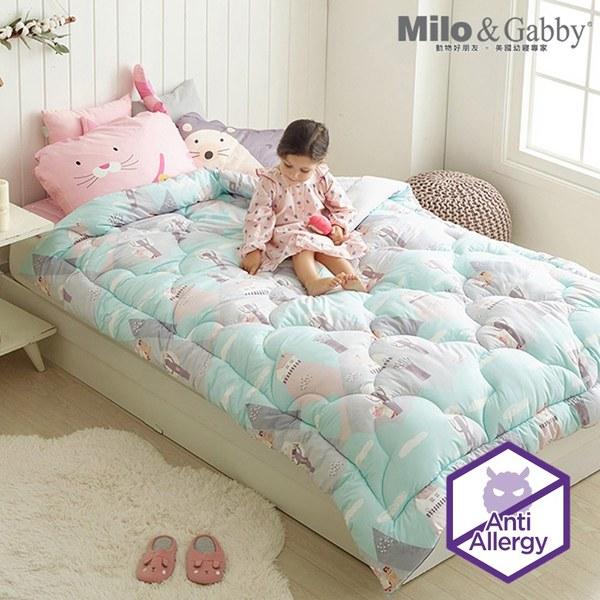 Milo & Gabby 兒童大人款輕柔舒適FresiL棉被(NANCY阿爾卑斯山)-150x200cm